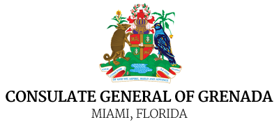 Consulate General of Grenada, Miami Logo